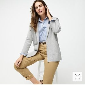 J. Crew oversized sweater blazer
